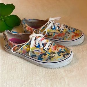 Disney & VANS Princess Limited Edition Shoes 7.5